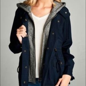 Forever21 faux Sherpa-lined jacket